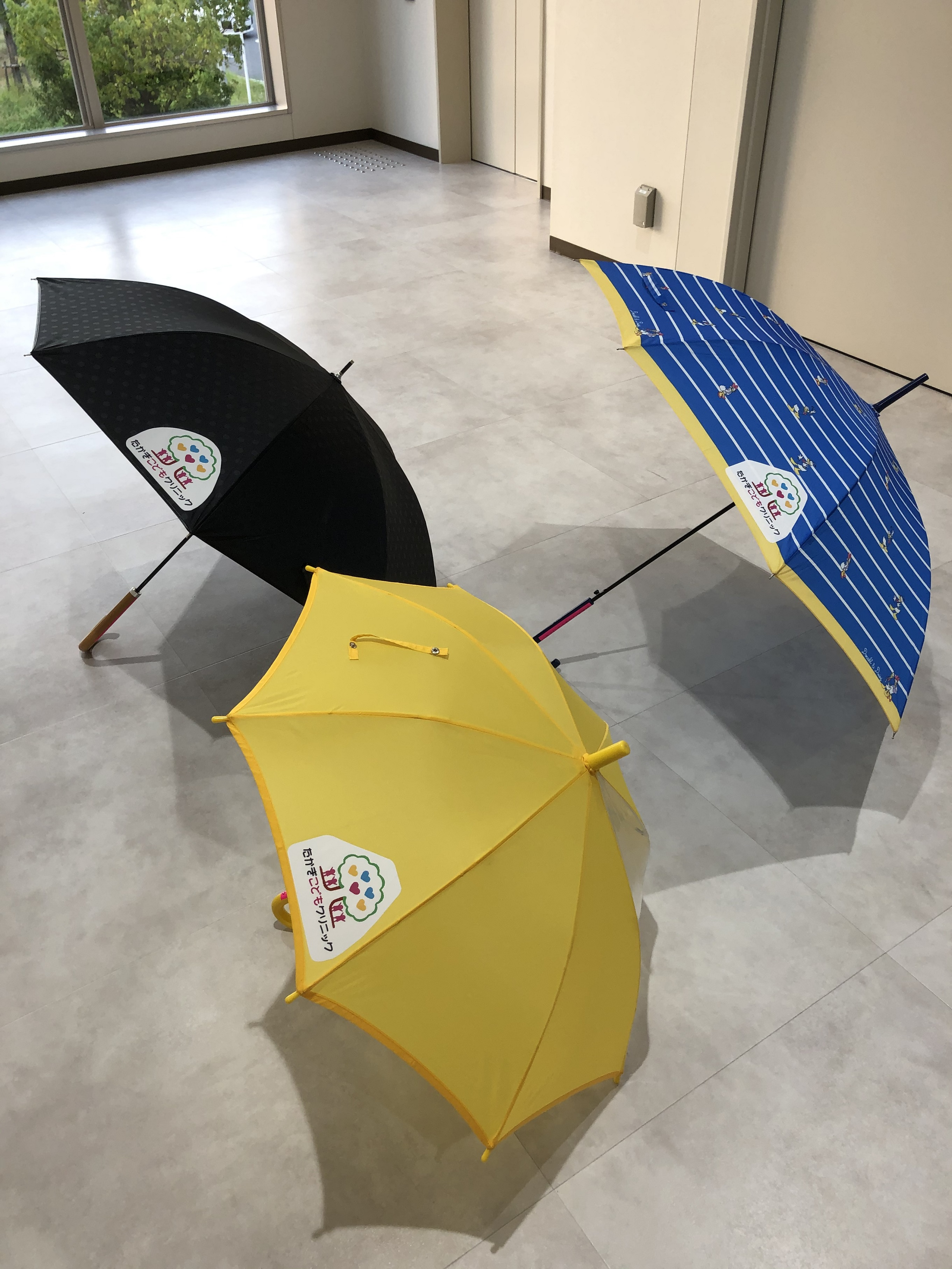 置き傘を用意しました